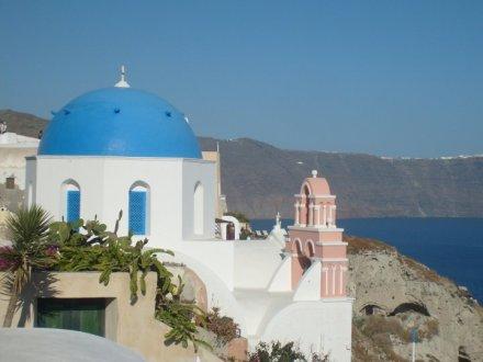 Rooftop View - Santorini, Greece