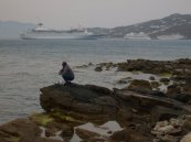 Fishing - Santorini, Greece